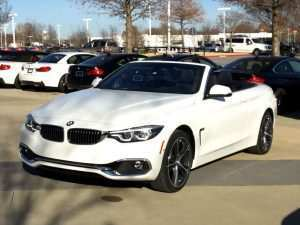 98 A 2019 Bmw 4 Convertible Price and Review