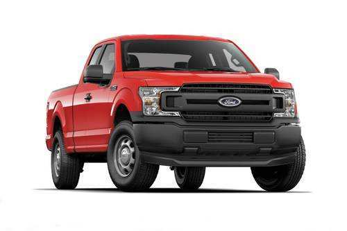 98 A 2019 Ford 150 Truck Interior
