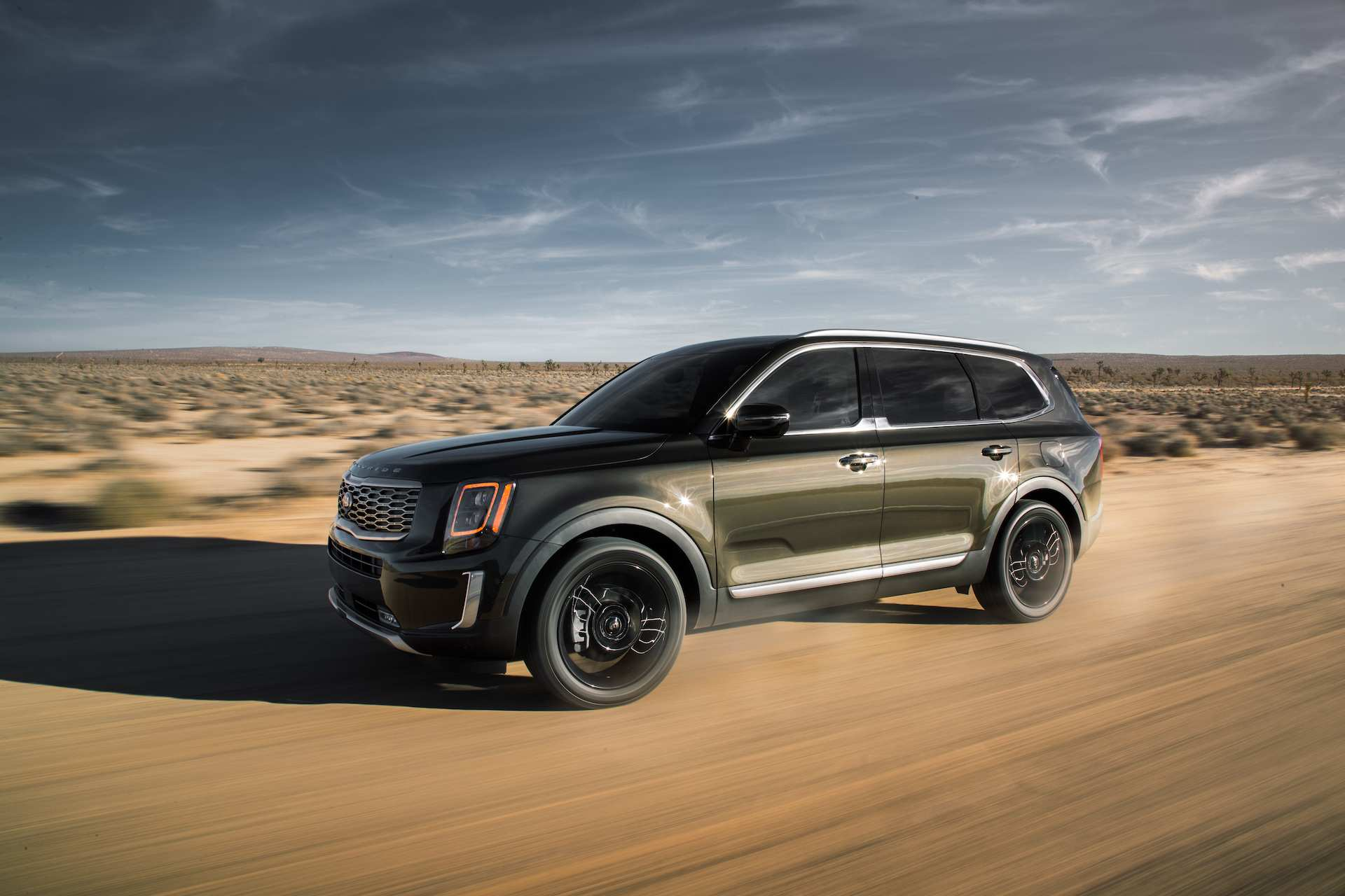 98 A Kia Telluride 2020 Interior Spy Shoot