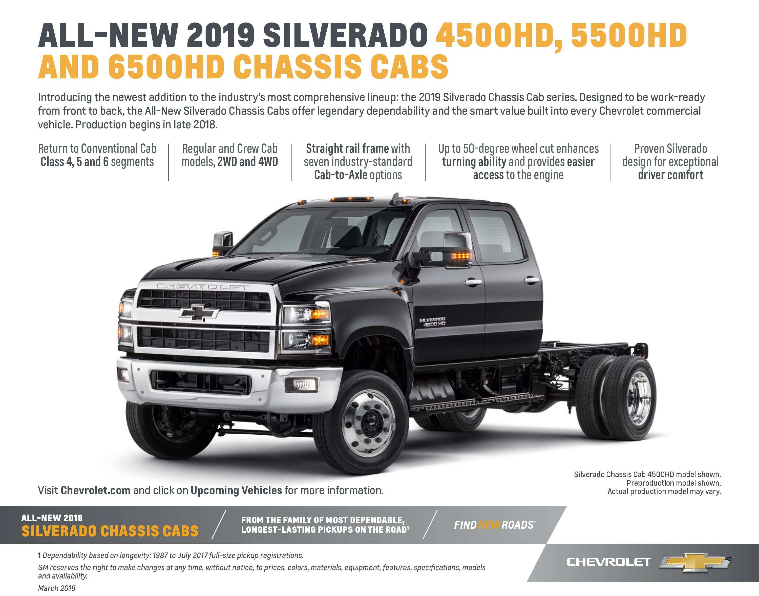 98 All New 2019 Chevrolet 4500Hd Price Exterior And Interior