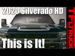 98 All New 2020 Chevrolet Silverado Hd Teased Concept and Review