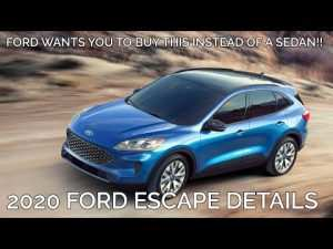 98 The Best 2020 Ford Escape Youtube Price and Review