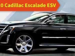 98 The Cadillac Escalade Esv 2020 Price and Review