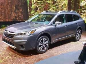 98 The Subaru Outback 2020 New York Spy Shoot