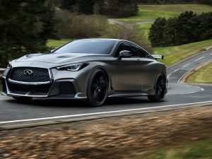 99 A 2020 Infiniti Sports Car Spy Shoot