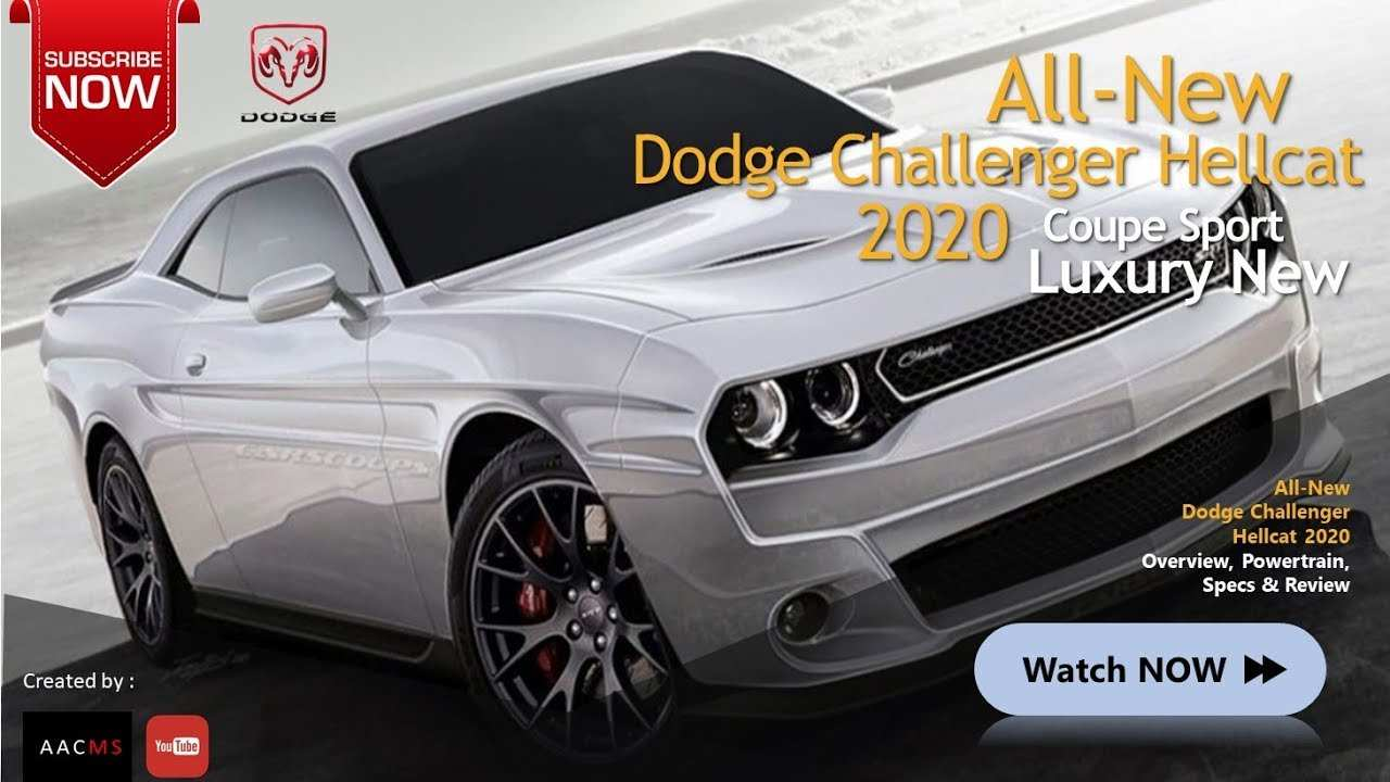 99 A Dodge New Muscle Car 2020 Picture