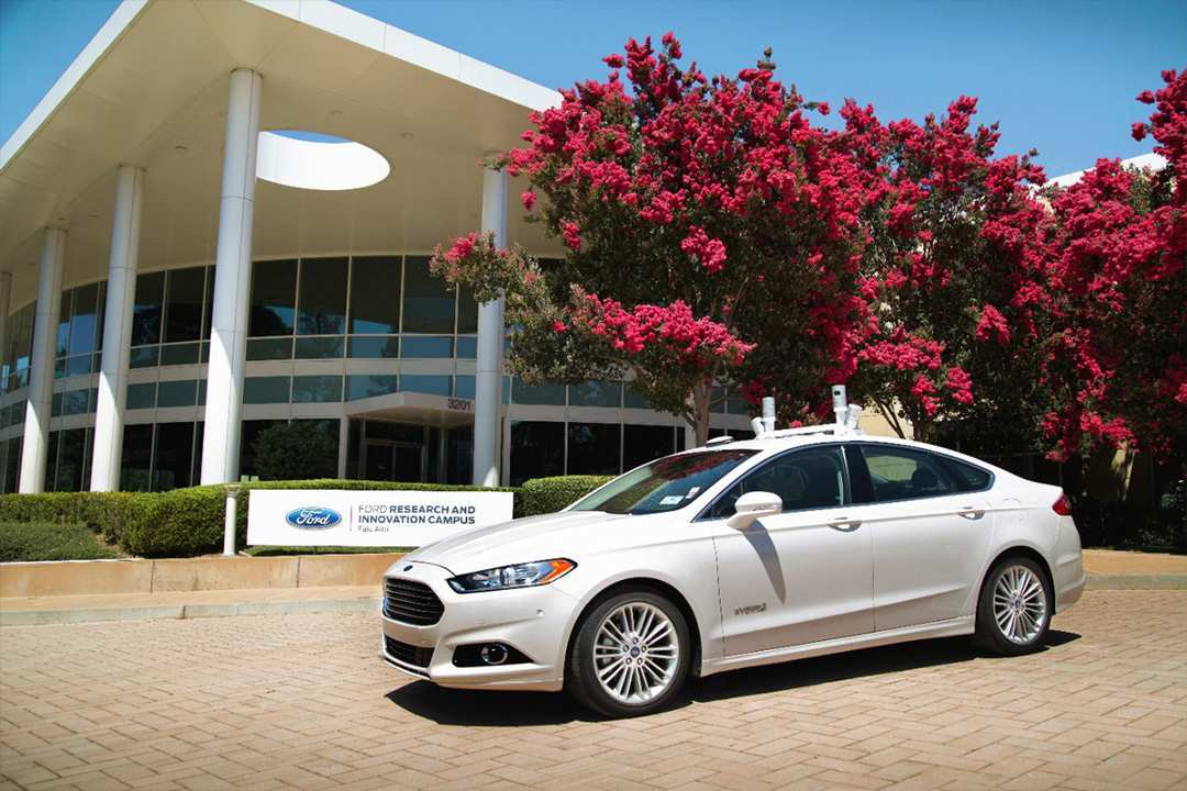 99 A Ford 2020 Driverless Configurations