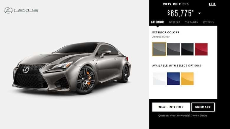 16 All New 2020 Lexus Rcf Price Overview