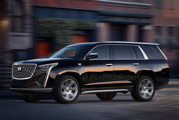 19 The Cadillac Escalade New Body Style 2020 Overview