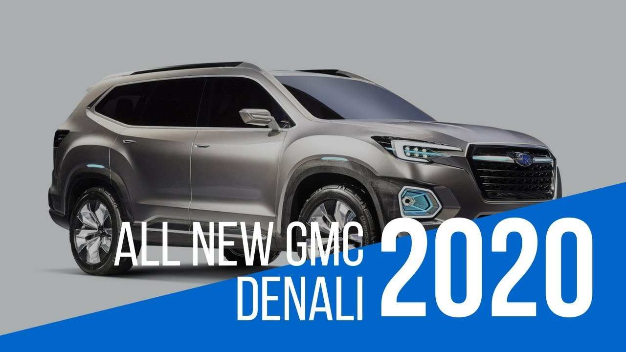 23 The Gmc Tahoe 2020 Price Design And Review