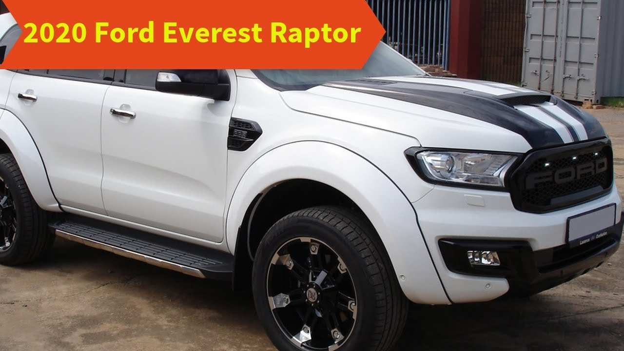 28 New Ford Everest 2020 Wallpaper