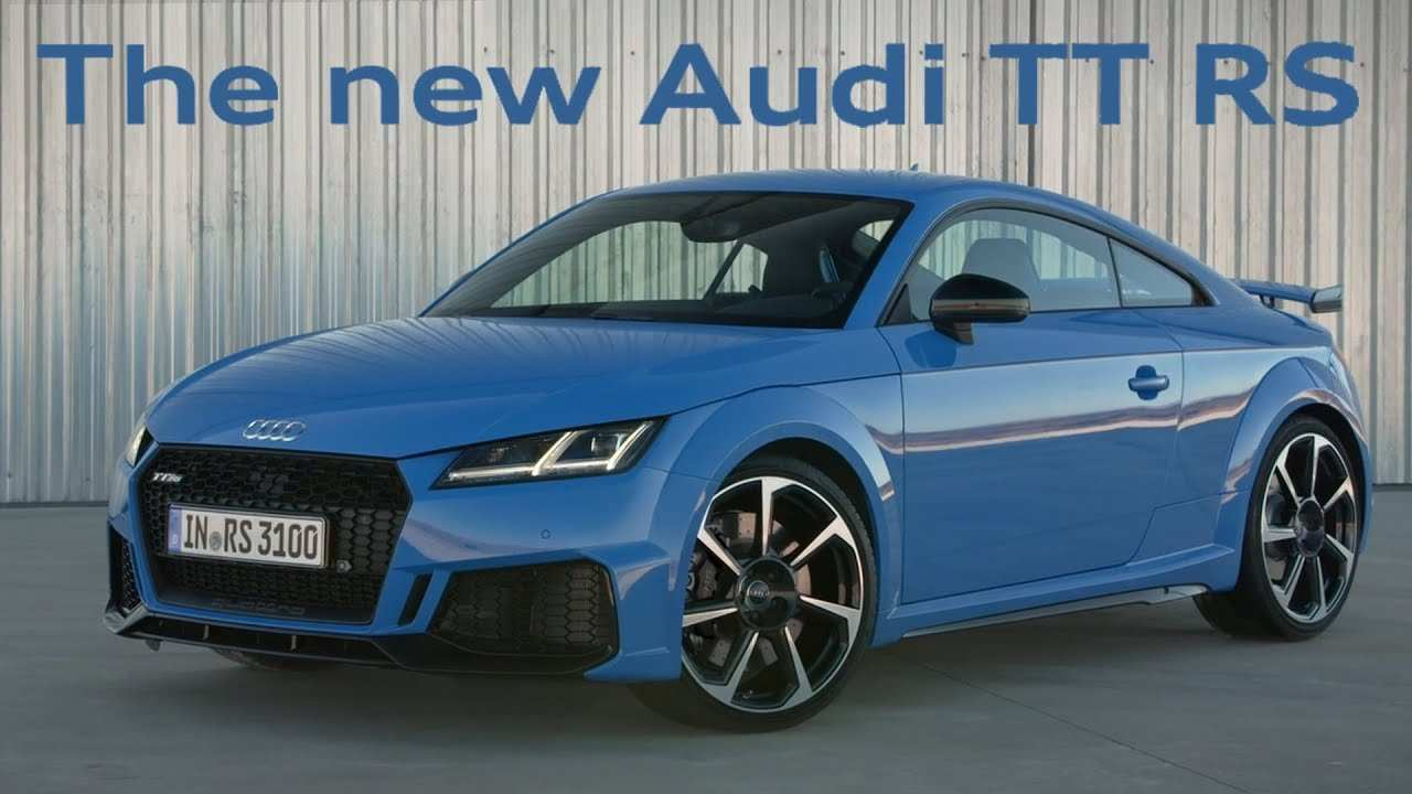 28 The Best Audi Tt Rs 2020 Youtube Release Date And Concept