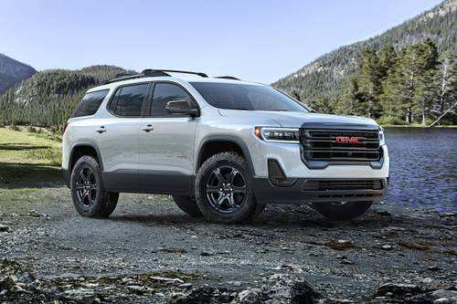 33 The Best 2020 Gmc Acadia Release Date Interior