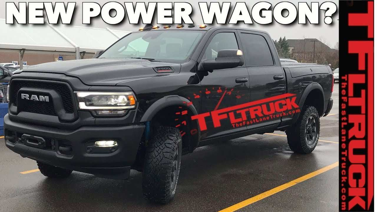 35 Best 2020 Dodge Power Wagon Price Design And Review