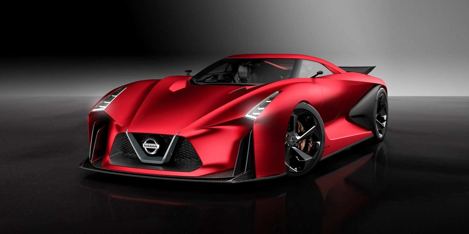 36 The Nissan Concept 2020 Top Speed Concept