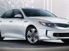 39 The 2020 Kia Optima Hybrid Exterior