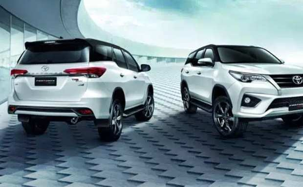 40 A Toyota Fortuner 2020 Model Spy Shoot