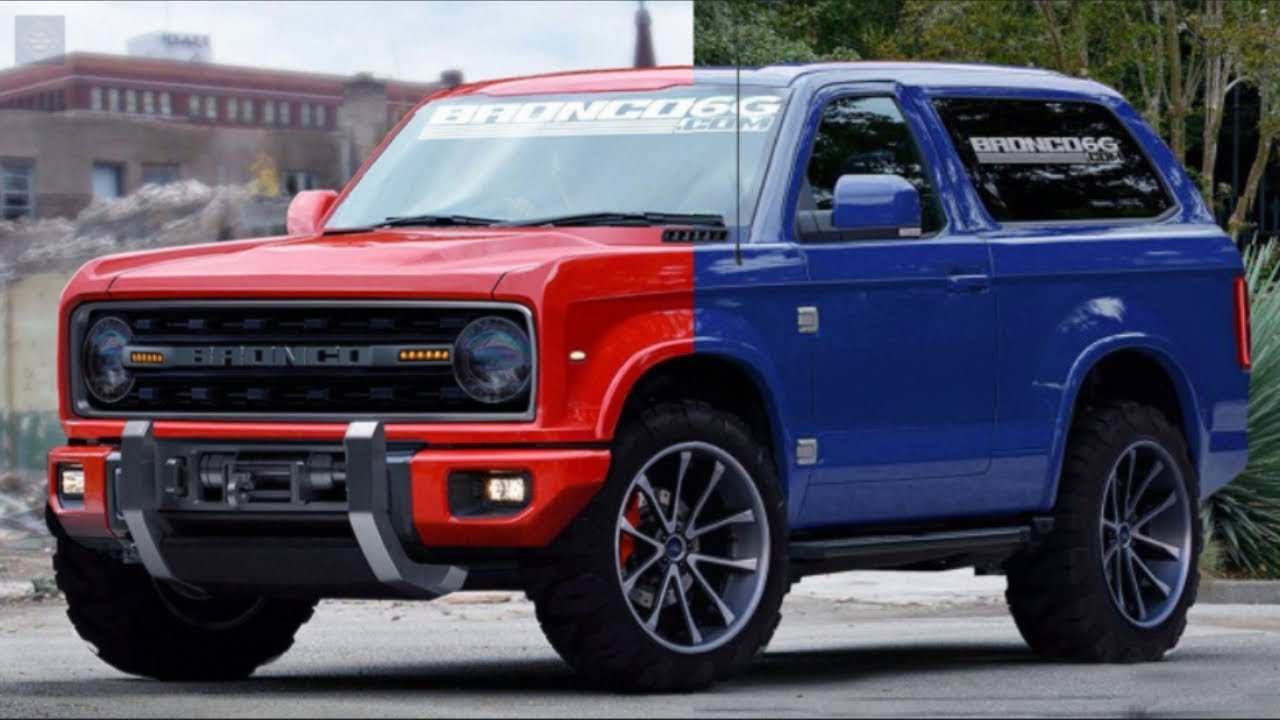 40 The How Much Is The 2020 Ford Bronco Release Date And Concept