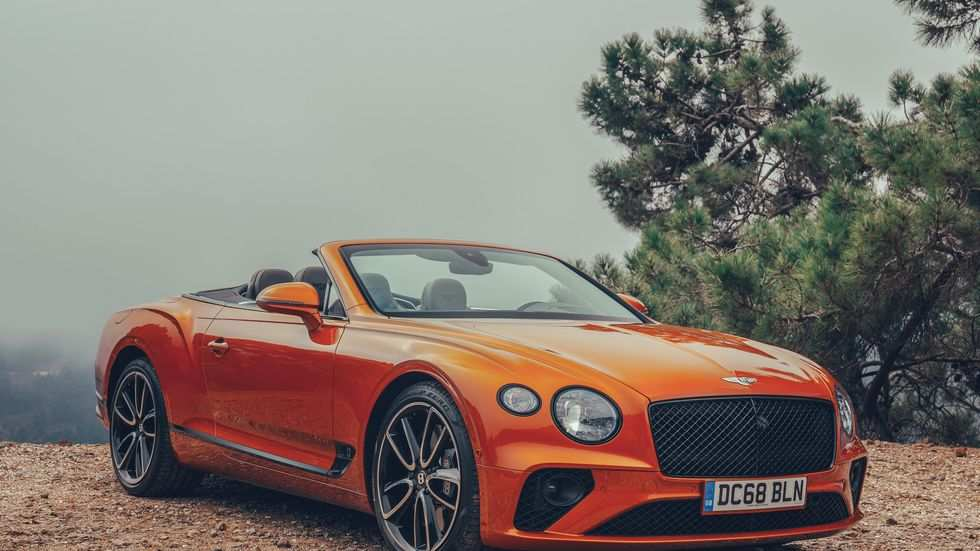 42 The 2019 Bentley Continental Gt Convertible Pictures