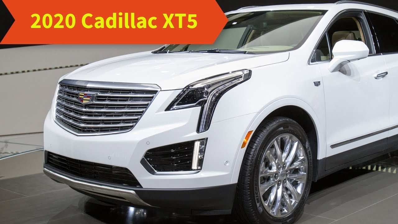 48 The When Will The 2020 Cadillac Xt5 Be Available Spy Shoot