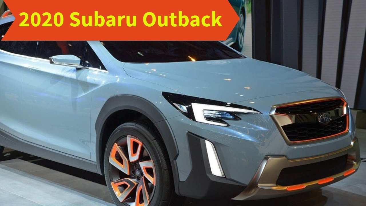 52 Best 2020 Subaru Outback Release Date Performance And New Engine