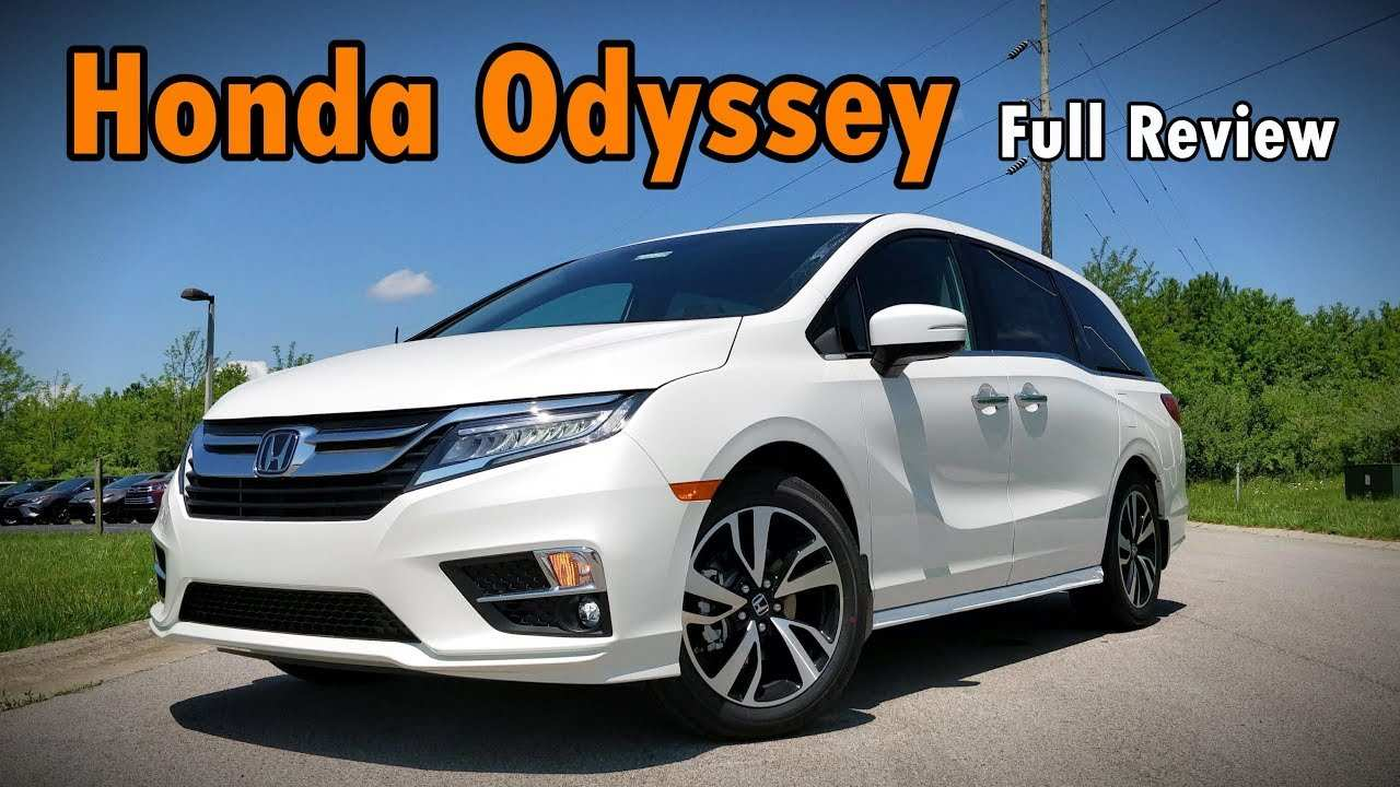 52 Best Honda Odyssey 2019 Vs 2020 Redesign And Concept