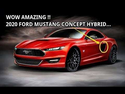 58 Best Ford Mustang Hybrid 2020 Exterior And Interior