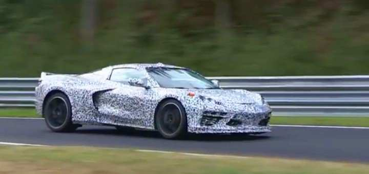 62 New 2020 Chevrolet Corvette Mid Engine Redesign And Concept