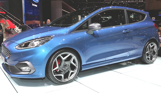 65 The 2020 Ford Fiesta St Interior