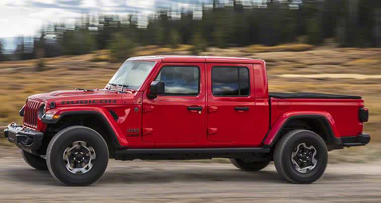 72 A 2020 Jeep Gladiator Overall Length Engine