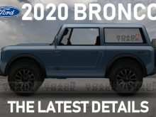 74 All New 2020 Ford Bronco Jalopnik New Model and Performance