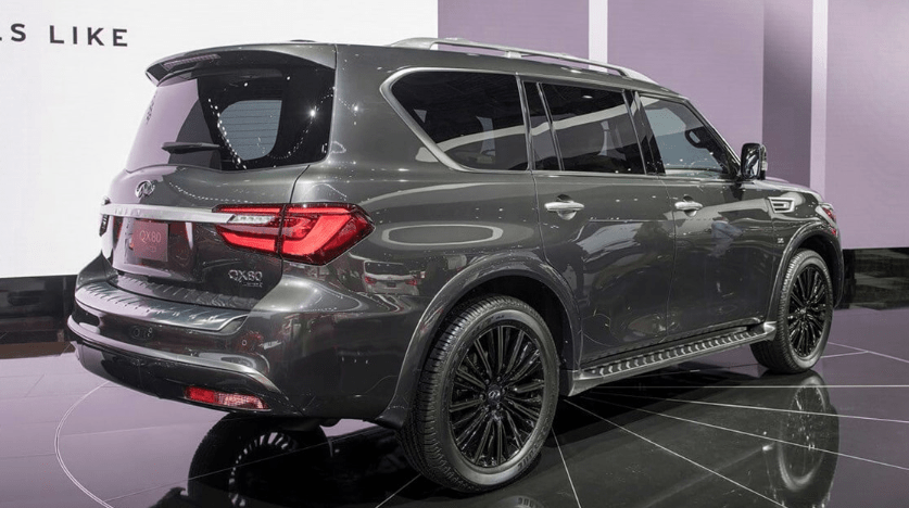 81 The 2020 Infiniti Qx80 Monograph Spy Shoot