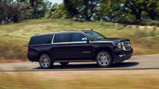 88 The Chevrolet Suburban 2020 Spy Shots Review