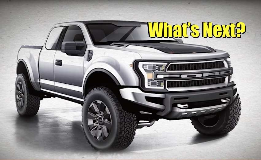 94 The Ford F150 Raptor 2020 Picture