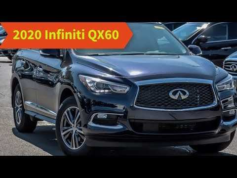 94 The Infiniti Qx60 2020 Redesign Release