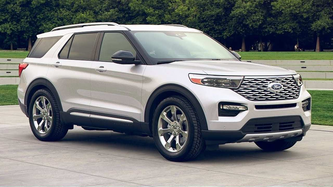 96 New Ford Suv 2020 First Drive