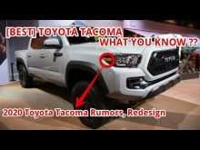 96 The Best Toyota Tacoma 2020 Redesign Release