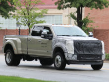 24 A Spy Shots Ford F350 Diesel Release