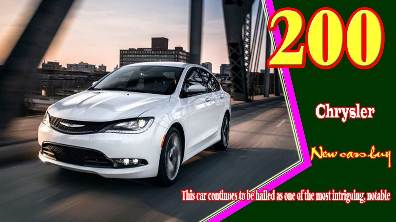 33 Best 2020 Chrysler 200 Convertible Price Design and Review