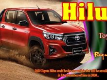 39 The 2020 Toyota Hilux Spy Shots Configurations