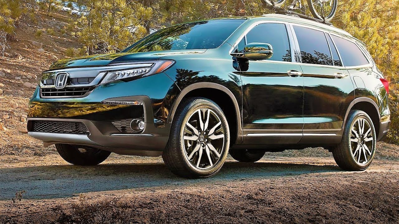 78 A 2019 Honda Pilot Spy Photos Interior