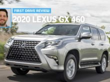 2020 Lexus Gx 460 Spy Photos