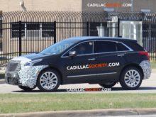 56 The 2019 Spy Shots Cadillac Xt5 Performance and New Engine
