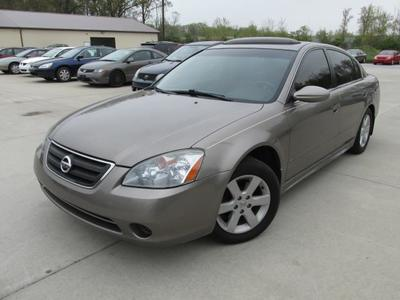 63 The 2003 Nissan Altima 2 5 Pricing