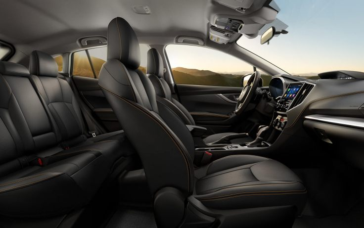 64 The New 2019 Subaru Crosstrek Khaki New Concept Interior