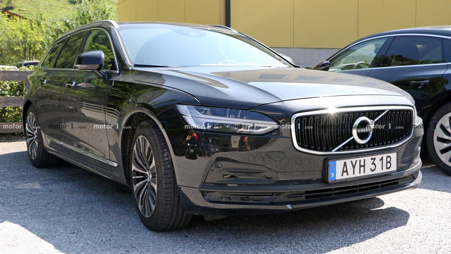 75 A Volvo S90 2020 Facelift 2 Engine