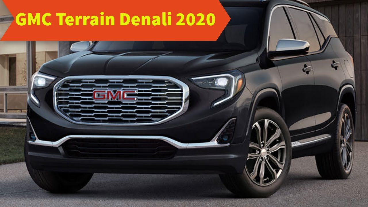 88 New Gmc Terrain 2020 Overview